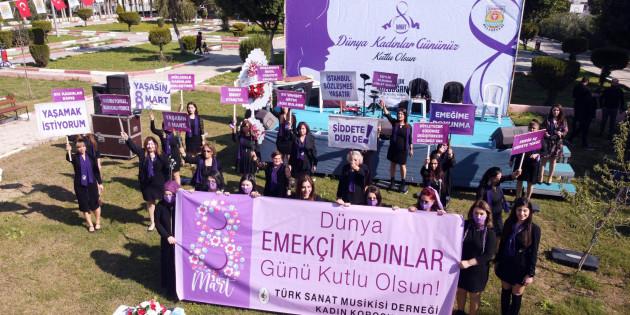 Tarsus Belediyesi'nden 8 Mart Kutlaması