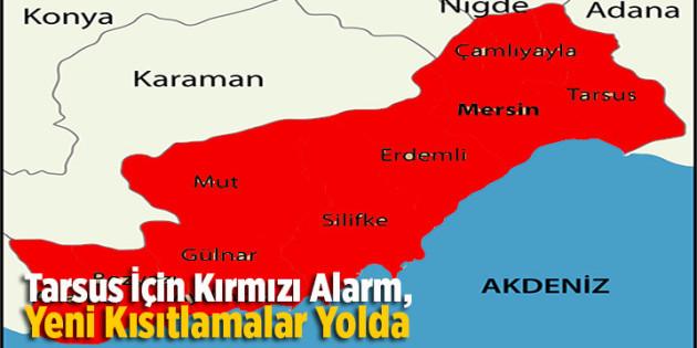 Tarsus İçin Kırmızı Alarm, Kısıtlamalar Yolda