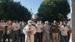 Kudüs'te yaşanan insanlık dışı zulümü ve saldırılar protesto edildi