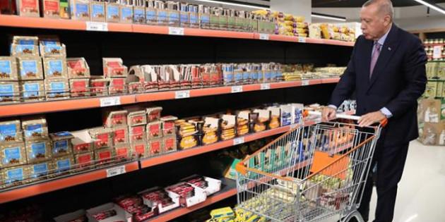 Cumhurbaşkanı Erdoğan'dan artan gıda fiyatlarıyla ilgili açıklama: Fırsatçılara göz açtırmayacağız
