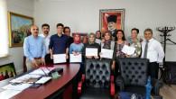 Tarsus Halk Eğitim Merkezinde Sertifika Töreni