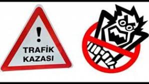 TARSUS'TA TRAFİK KAZASI
