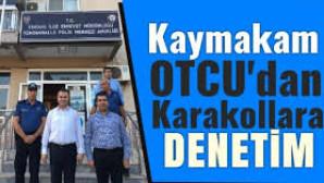 TARSUS KAYMAKAMI DENETLEME YAPTI