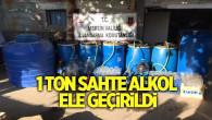 MERSİN'DE KAÇAK ALKOL