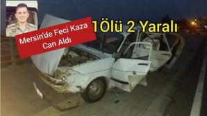 YİNE BİR TRAFİK  KAZASI KURBANI