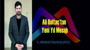 Ali Boltaç'tan Yeni Yıl Mesajı