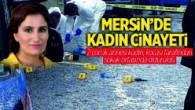 Tarsus Yenice'de Emine Dahak, Kocası Tarafından Silahla Vurularak Öldürüldü