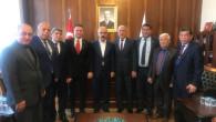 Tarsus'ta Toplu Konut İçin Tüm Emek Der Başkanı M.Bülent GÖZENER Ankara'da