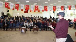 """BÜYÜKŞEHİR'DEN """"KORKU VE KAYGILARI YENMEK"""" SEMİNERİ"""