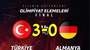 Türkiye 3—0 Almanya