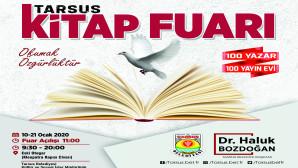 100'DEN FAZLA YAZARIN KATILACAĞI TARSUS KİTAP FUARI AÇILIYOR