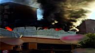 Mersin Erdemli Kent Merkezinde İşyeri Yangını