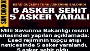 5 askerimizin şehit düştüğü saldırıyla ilgili Türkiye'den ilk tepki: Şehitlerimizin kanı yerde kalmadı