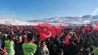 KAR FESTİVALİ COŞKUSU ARSLANKÖY'DE DEVAM EDİYOR