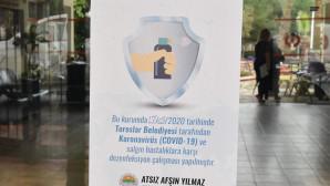 TOROSLAR'IN KORONAVİRÜS TEDBİR TİMİ, 24 SAAT İŞ BAŞINDA