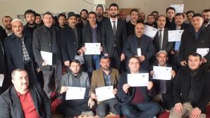 Din görevlileri banka promosyonlarını bağışladı