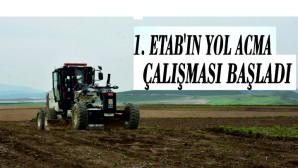 TARSUS ORGANİZE SANAYİ BÖLGESİNDE 1. ETAB'IN YOL AÇMA VE DOLDURMA ÇALIŞMALARI BAŞLADI