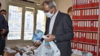 """TARSUSBELEDİYESİNDEN BERBER, KUAFÖR VE GÜZELLİK SALONLARINA """"HİJYEN SETİ"""" DESTEĞİ"""