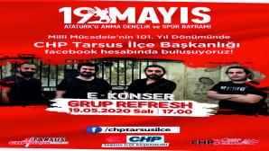 CHP DEN ONELİNE KONSER
