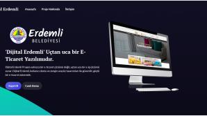 """""""Erdemli E Ticaret, Dijital Dönüşüm Projesi'nde Başvurular Başladı"""""""