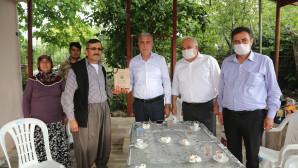 Başkan Tollu'dan Şehit Babalarına Ziyaret