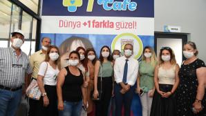 TARSUS'TA DOWN SENDROMLU BİREYLERE YÖNELİK KAFE AÇILDI