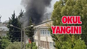 Mersin'de Okul Yangını! Atatürk Mesleki ve Anadolu Lisesinde Yangın Çıktı: 2 Öğretmen Yaralandı