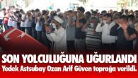 Balıkesir Edremit'te Kaza Kurşunun İsabet Etmesi Sonucu Hayatını Kaybeden Mersin Tarsuslu Asker Arif Ozan Güven Toprağa Verildi