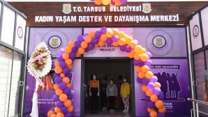 Tarsus'ta Kadın İle Gençlik Merkezi Açıldı