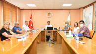 Başkan Yılmaz Encümenleriyle Toplantı Yaptı
