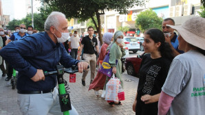 Büyükşehir Belediyesi ile Akdeniz Belediyesi arasında 'scooter' gerginliği