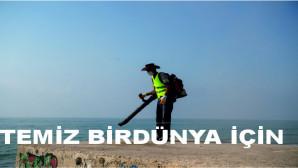Büyükşehir ile Mezitli Belediyesi Sahil Temizliği İçin El Ele Verdi