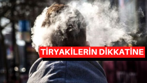 Tiryakilere kötü haber!