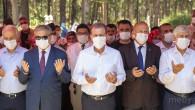 Mersin Şehitliği'nde 15 Temmuz Anma Töreni başkan Seçer, Demokrasi Ve Milli Birlik Günü Anma Törenine katıldı