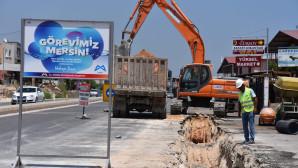 Meski'nin kanalizasyon Yatırımları Hız Kesmeden Sürüyor