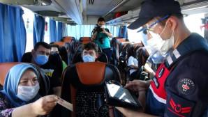 Ev Karantinasında Olması Gereken Kadın, Yolcu Otobüsünden Çıktı