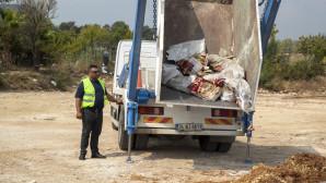 Hidrolit Aracı İle Hafriyat Atıkları Toplanıyor, Çevre Temiz Kalıyor