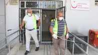 TOROSLAR'DA SAĞLIK MERKEZLERİ DEZENFEKTE EDİLİYOR