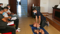 Erdemli Belediyesi'nden Çalışanlara İlk Yardım Eğitimi