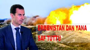 Ermenistan krizinde tarafını seçti