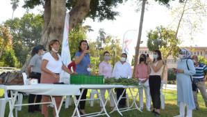Tarsus'lu Kadınlar Mersin Büyükşehir İçin Zakkum Üretecek