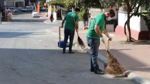 Toroslar 'da Her Mahallede Genel Temizlik Yapılıyor