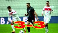 Türkiye, konuk ettiği Hırvatistan ile 3-3 berabere kaldı