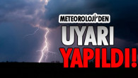 Mersin'e Sarı Uyarı!