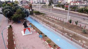 Tarsus Belediyesi 1. Etap bisiklet yolunu tamamlayarak halkın kullanımına açtı