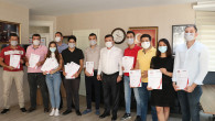 Eğitimleri Tamamlayan 12 Personel Sertifikaların Aldı