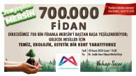 Büyükşehir Yeşil Mersin Projesi'ni Başlatıyor