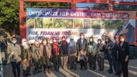 Büyükşehir  Zeytin Fidanı Dağıtımını Akdeniz'den Başladı