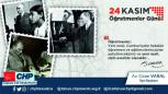 CHP Tarsus İlçe Başkanı Av. Ozan Varal, 24 Kasım Öğretmeler Günü nedeniyle bir mesaj yayınladı