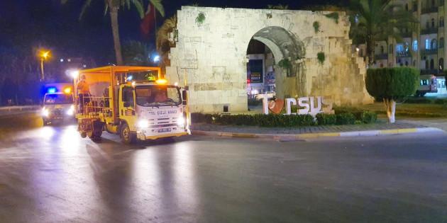 Trafik Ve Yaya Güvenliği İçin Mersin Büyükşehir'den  Kapsamlı Faaliyet